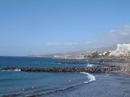 Strand Americanos bis Adeje - Strand Playa de las Americas