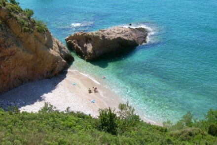 Einsames Stückchen Strand - Strand Limenaria
