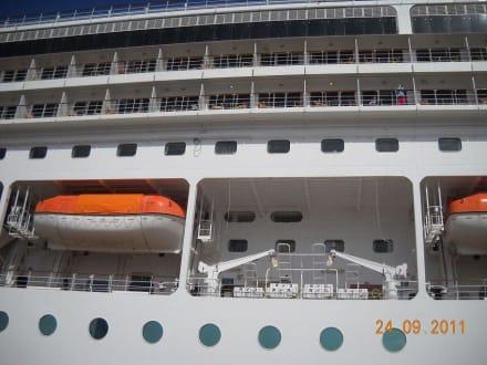 Rettungsboote - MSC Opera