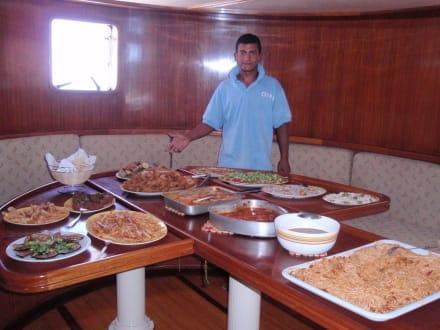 Das beste Essen, was wir in Ägypten je hatten - Ausflug mit Mohamed