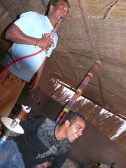 Die Pause im Beduinendorf - Quad Tour Marsa Alam