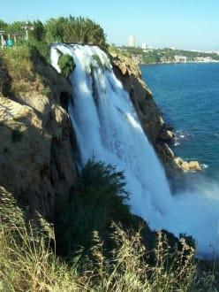 Düden Wasserfall bei Antalya - Karpuzkaldran - Unterer Düden Wasserfall / Karpuzkaldiran Şelalesi