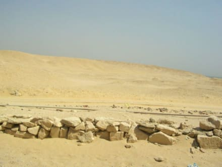 Reste der Tempelanlage - Stufenpyramide / Pyramide von Djoser