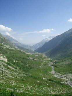 Pass über den St.Gotthard - St. Gotthard Pass