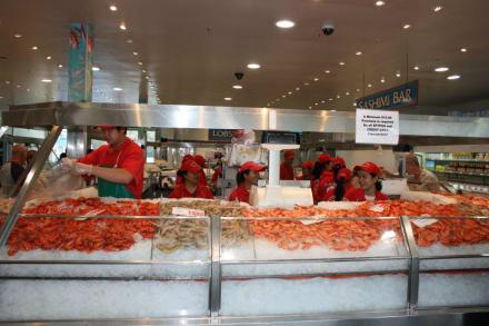 Fish Stand auf dem Sydney Fish Market - Sydney Fish Market