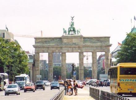 Brandenburger Tor von Westen - Brandenburger Tor