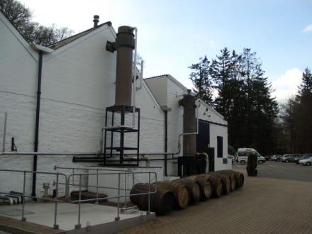 Außenansicht Destillery - Glenturret Whisky-Brennerei