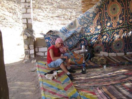 Beduinencamp während der Quad-Tour - Quad Tour Hurghada