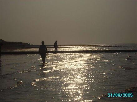 Sonnenuntergang - Wattenmeer