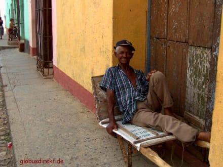 Im Schatten ist es doch am angenehmsten... - Altstadt Havanna