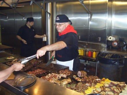 The Knife - Fleischausgabe - Restaurant The Knife