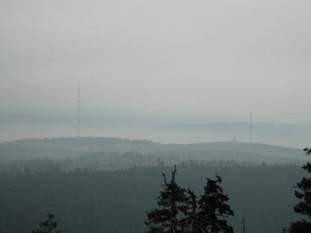 Blick vom Brocken - Brocken