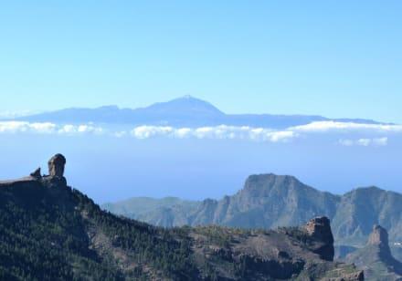 Ausblick nach Westen - Pico de las Nieves