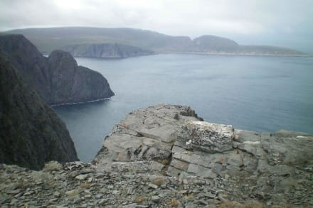 Blick vom Nordkap - Nordkap