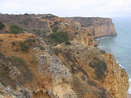 Steilküste Porto de Mos - Küste Lagos