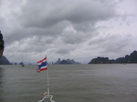 Schiffsausflug Phang-Nga - Phang Nga Bucht/Nationalpark Ao Phang Nga
