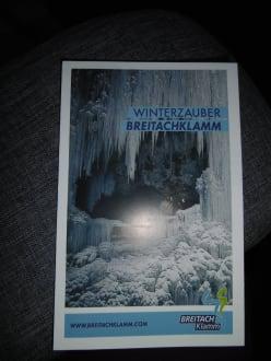 Info Flyer Breitachklamm - Breitachklamm