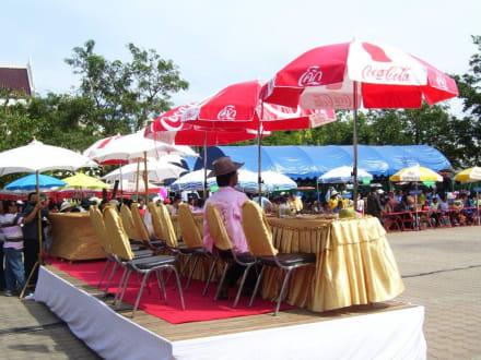 Bühne - Khmer Tempel