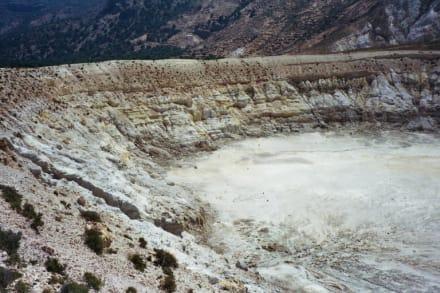 Nissyros, Stefanos Krater - Vulkankrater auf Nisyros