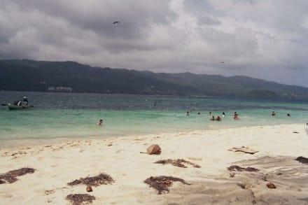 Strand - Bacardi Insel - Isla Cayo Levantado
