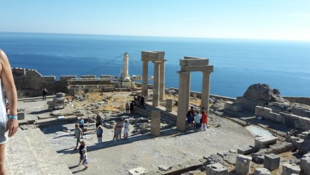 Akropolis von Lindos - Akropolis von Lindos