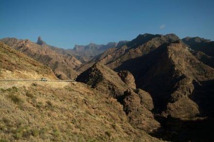 Bizarre Landschaft Gran Canarias - Bergwelt