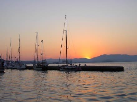 Abendstimmung Kerkyra Hafen - Hafen Korfu Stadt/Kerkyra