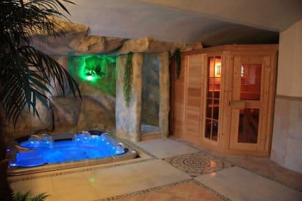 wellnessbereich whirlpool mit sauna bild hotel u spejcharu in novy kostel westb hmen. Black Bedroom Furniture Sets. Home Design Ideas