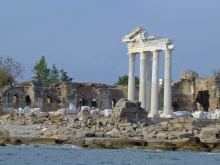 Wahrzeichen Side - Apollon Tempel