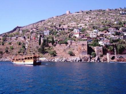 Burg von Alanya - Blaue Reise