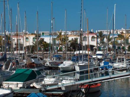 Puerto Mogan - Hafen Puerto de Mogán