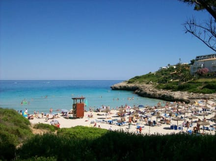 Bucht von Cala Mandia - Strand Cala Mandia