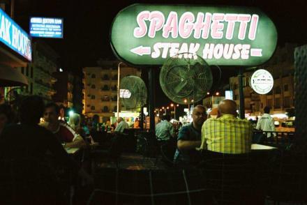 Spaghetti - Steak House - Spaghetti - Steakhouse