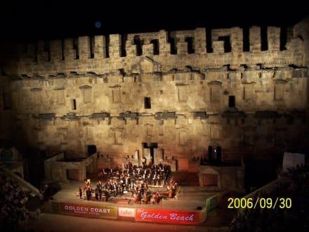 Konzert in Aspendos - Theater von Aspendos