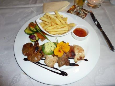 Abendessen - Alpenrose Hotel-Pension