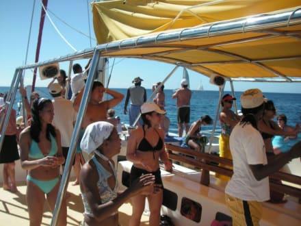 buntes Bootstreiben - Katamaran Tour Punta Cana