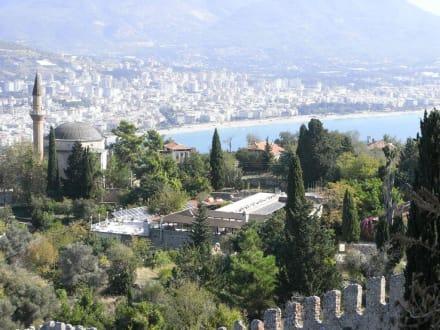 Blick von der Kleopatra-Burg - Burg von Alanya  (Ic Kale)