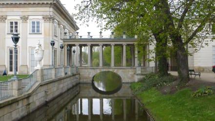 Łazienki-Palast / Palast auf dem Wasser - Lazienki Park / Park der Bäder