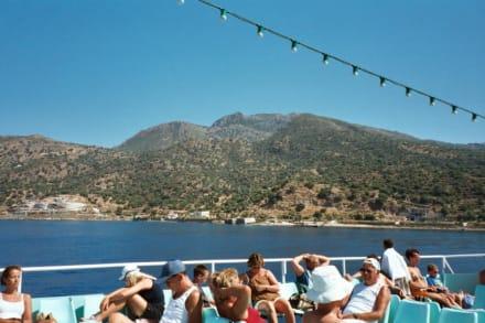 Nisyros, Blick auf Nisyros - Insel Nisyros
