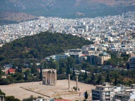 Blick von der Akropolis - Akropolis