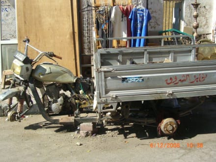 Sonderbares Gefährt - Zentrum Hurghada