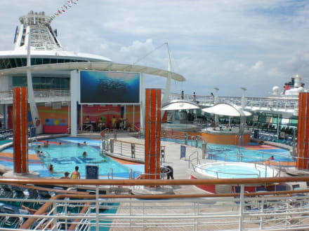 Hauptpool - Freedom of the Seas