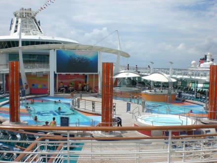 Hauptpool - Freedom of the Seas