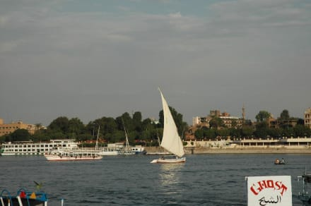 Nil - Felukenfahrt auf dem Nil