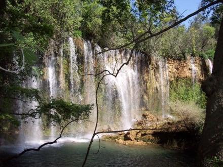 Der schöne Wasserfall in Antalya - Kursunlu Wasserfälle