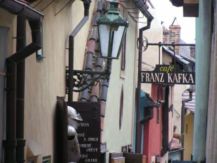 Goldmachergäßchen - Café Franz Kafka