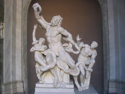Skulptur um Trojas Sturz - Vatikanische Museen