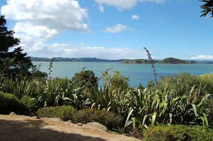 Küste von Waitangi - Waitangi National Reserve