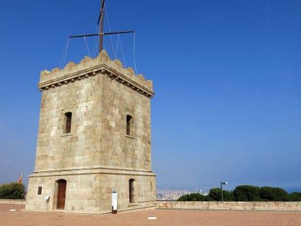 Der Turm der Festung - Castell de Montjuïc