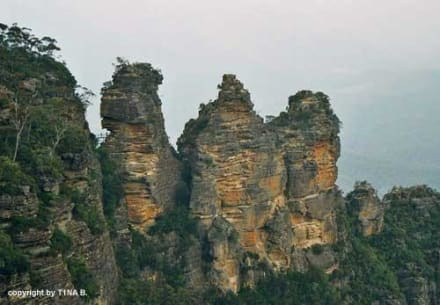 Three Sisters - Landschaft Blue Mountains